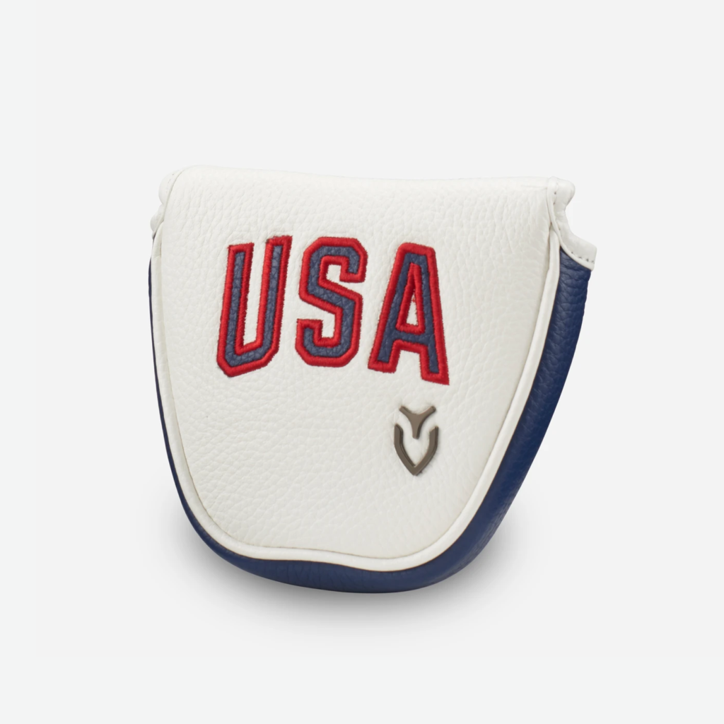 19 Presidents Cup Putter Cover USA  (Mallet)